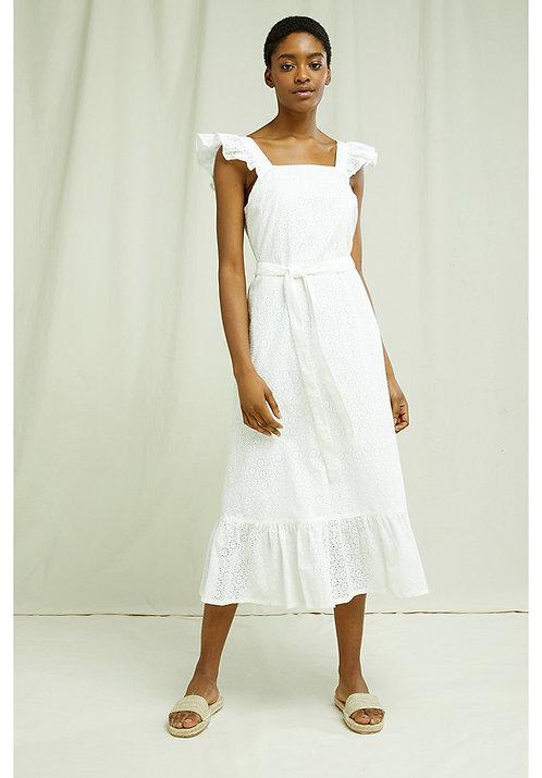 Kleid JAYA BRODERIE aus reiner Bio-Baumwolle