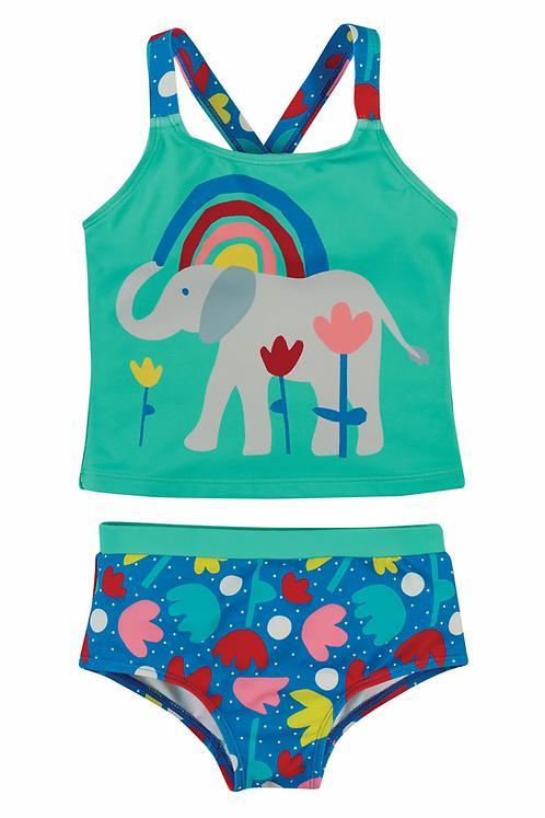 Badeanzug REEF TANKINI ELEPHANTS aus recycletem Polyester