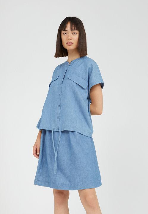 Bluse CIAANA aus Bio-Baumwolle, Leinen und TENCEL