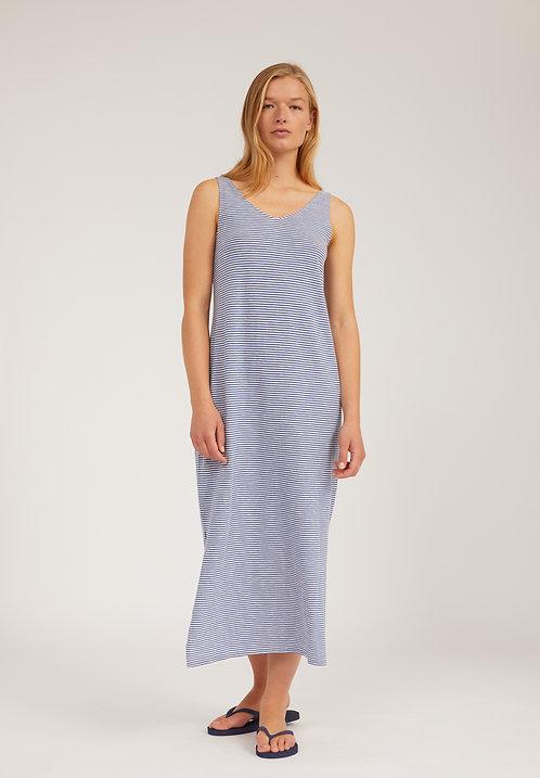 Kleid MADALENAA PRETTY STRIPE aus reiner Bio-Baumwolle