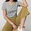 Thumbnail: T-Shirt Damen - Grau aus reiner Bio-Baumwolle