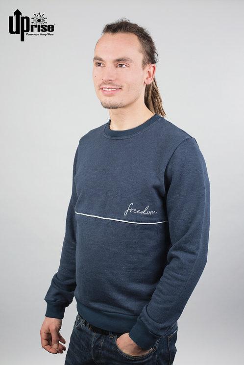 Sweater FREEDOM aus Hanf und Bio-Baumwolle