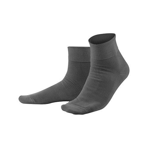 Socken Grau aus 100 % Bio-Baumwolle
