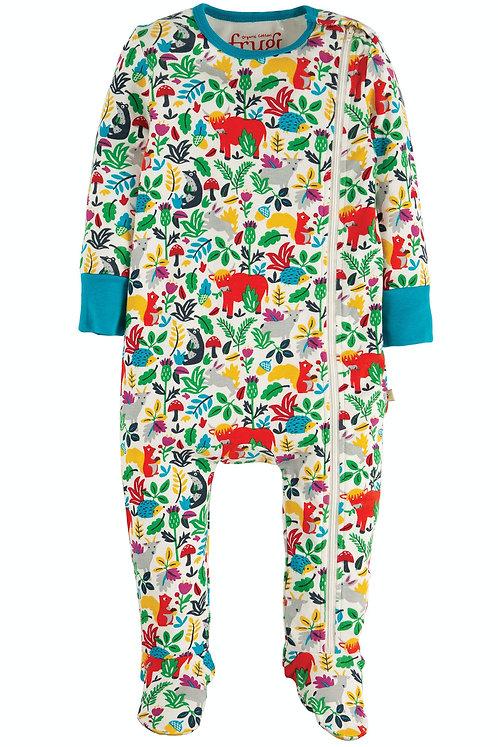 NEU: Schlafanzug ZIPPED BABYGROW WOODLAND aus reiner Bio-Baumwolle