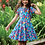 Thumbnail: Kleid SPRING SKATER DRESS LOTUS BLOOM aus Bio-Baumwollmix