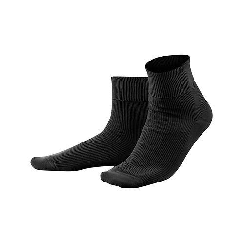 Socken Schwarz aus 100 % Bio-Baumwolle