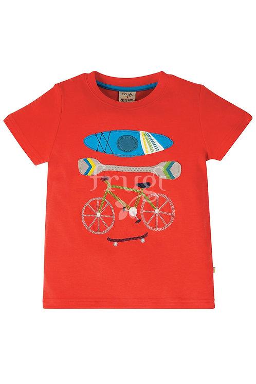 T-Shirt CARSEN SPORT aus reiner Bio-Baumwolle