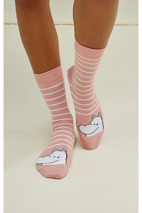NEU: Socken MOOMIN STRIPE SOCKS aus Bio-Baumwollmix