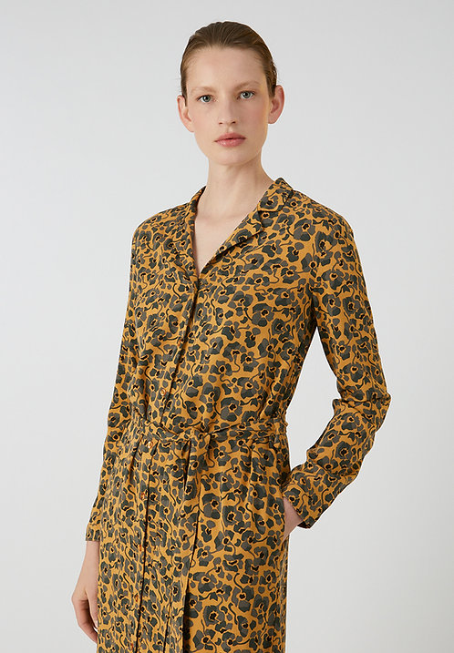 Kleid VELLAAMO CAMOU FLOWERS aus ECOVERO