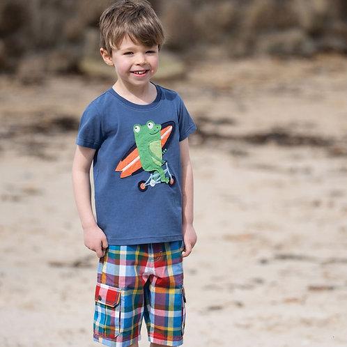 T-Shirt STANLEY FROG aus reiner Bio-Baumwolle