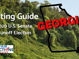 New Voting Guide For GA U.S. Senate Runoff Elections