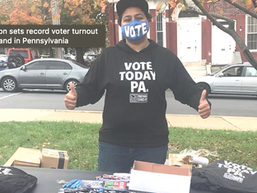 2020 election sets record voter turnout nationwide and in Pennsylvania