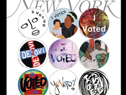 'I Voted' Stickers for Everyone Who Needs One A New York Magazine collaboration with 48 artists.
