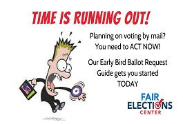 Voting by mail? Get your ballot request in now!