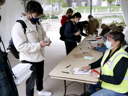 'The enthusiasm is there': College students push through obstacles to cast their votes