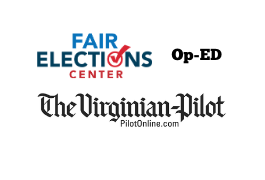 Virginia making strides to expand voting access