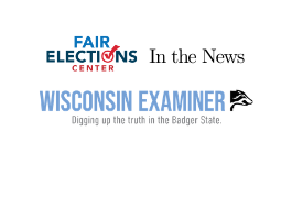 Proposed Wisconsin elections laws could be illegal