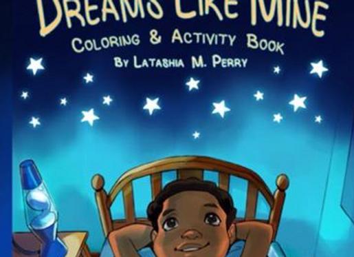 Dreams Like Mine coloring/activity book