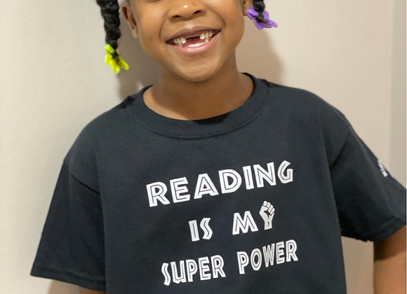 Reading is my superpower tee