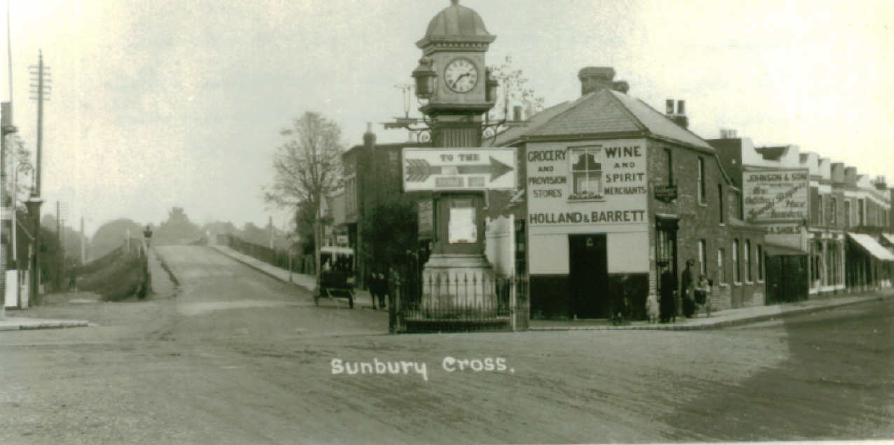 Sunbury Clock recruiting sign