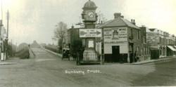 Sunbury Clock recruiting sign