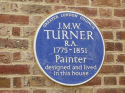 Turners House in Twickenham blue plaque.