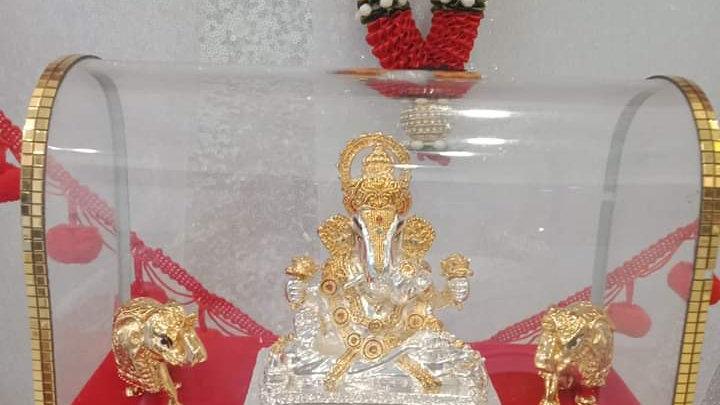 ૐ พระพิฆเนศ ปางเศรษฐี ดั๊กดูเศรษฐ์ ૐิ  งานอินเดีย