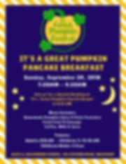 PANCAKE - The Great Pumpkin Festival - P