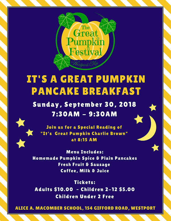 PANCAKE - The Great Pumpkin Festival - P