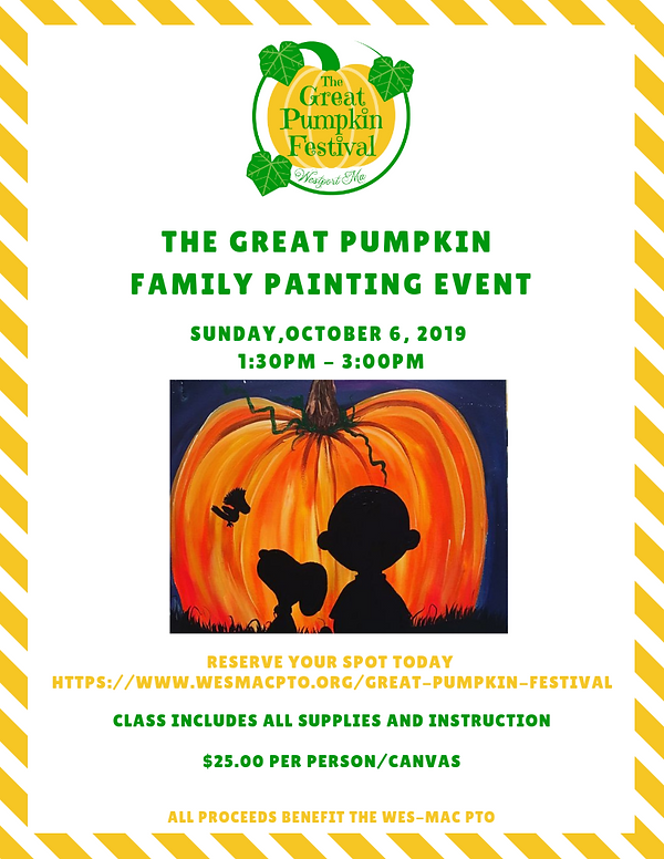 2019 Family Paint Event - The Great Pump