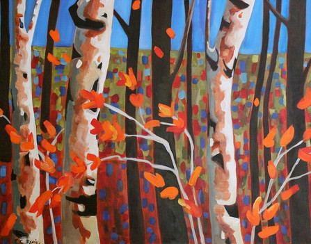 Birch Silhouettes series #6.JPG