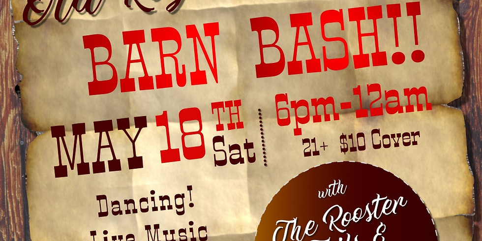 BARN BASH!! Country Dance at the Old Roy Rodeo Hall