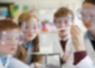 Les étudiants de chimie