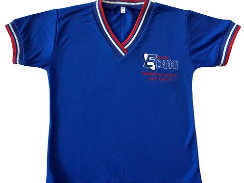 Camiseta Manga Curta  Azul Eduki