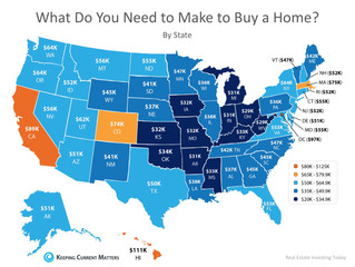 How Much Do You Need To Make To Buy A Home In Your State?