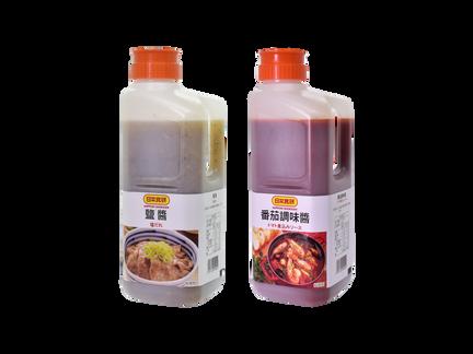 【新商品販賣】鹽醬、番茄調味醬