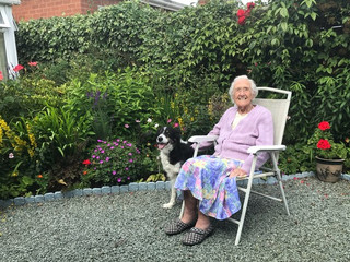 Dotty about Gardening at 90