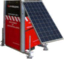 pile àcombustible, alimentation solaire, camera solaire