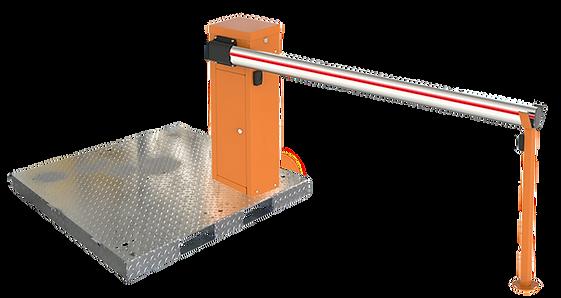 barrière levante mobile