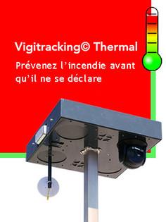 Cube Vigithermal détetion incendie
