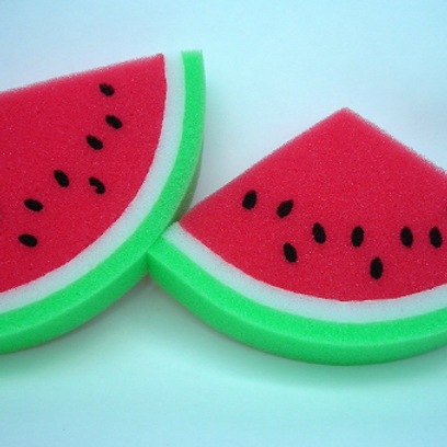 Watermelon Sponge Bath