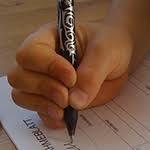 undifferenziert - zu viele Finger am Stift