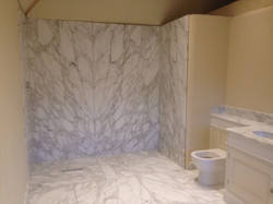 Arabescato bathroom  (1)