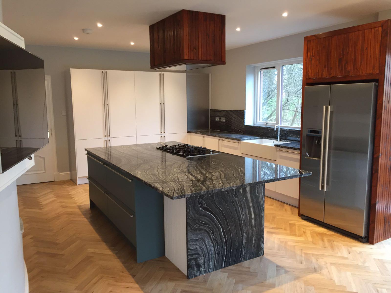 Silver Wave granite kitchen top (2)