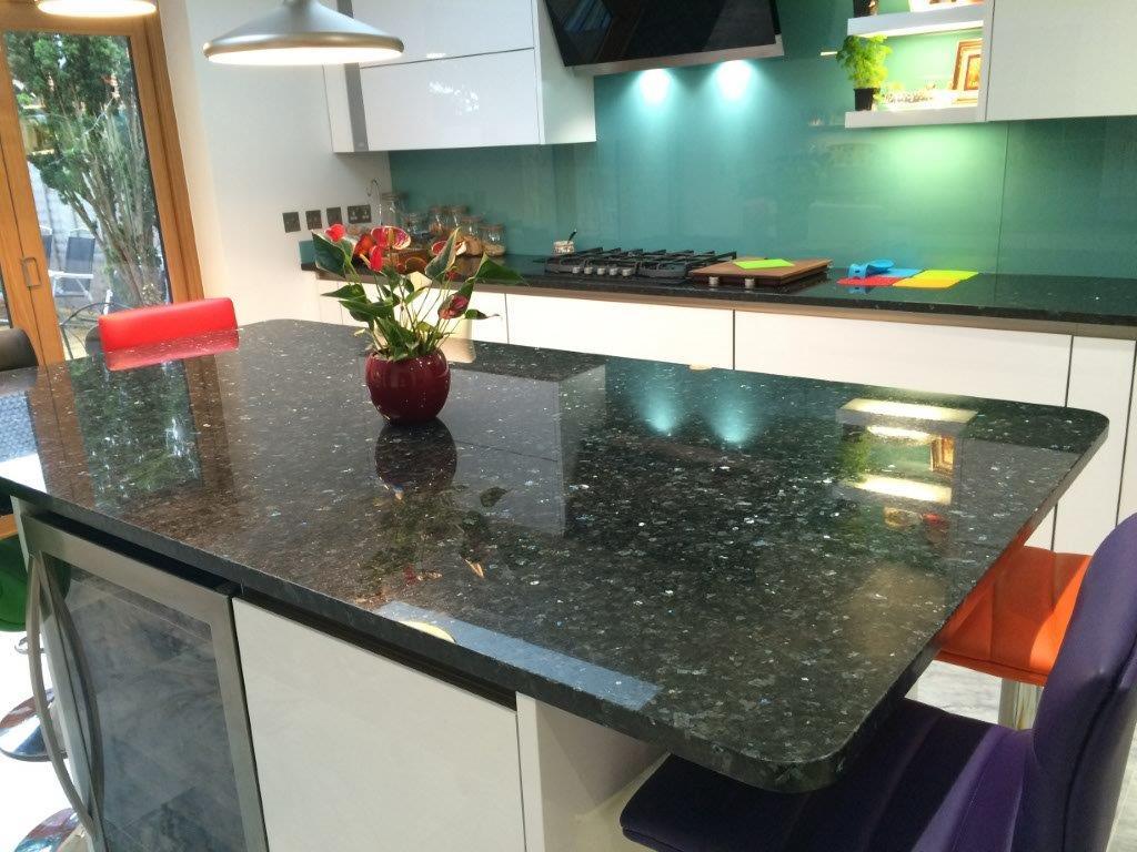 Emerald Pearl Granite Worktop in London  (4)