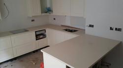 Ivory Quartz kitchen top  (2)