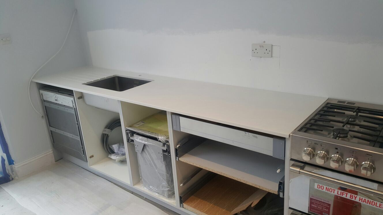 Ivory Quartz kitchen top  (9)