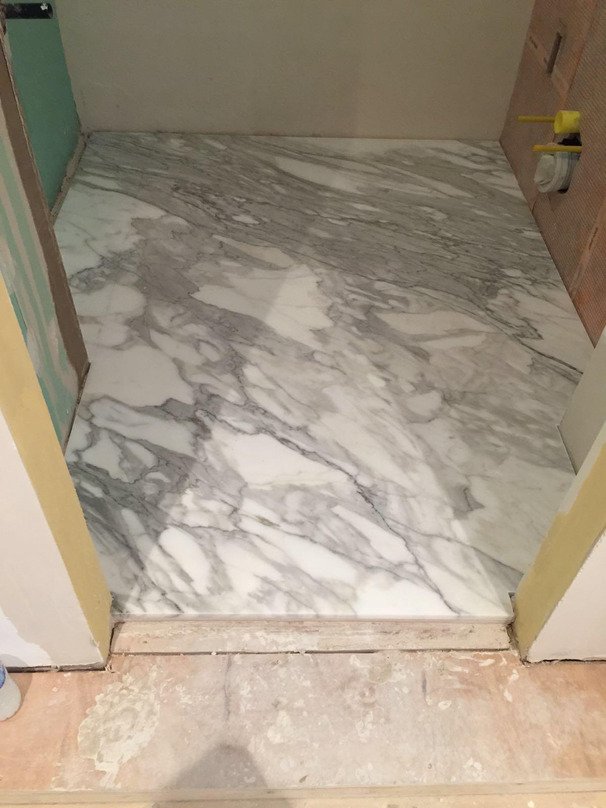 calacatta bathroom (2)