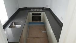 Dark Grey Quartz kitchen top (1)