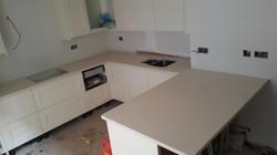 Ivory Quartz kitchen top  (1)